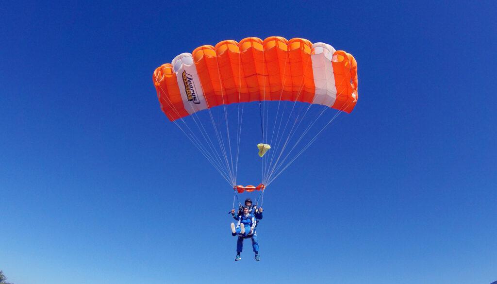 Icarus kupola skydiving tandem group, aeroklub tandem, skok padobranom škola padobranstva, Zagreb, split, hvar.