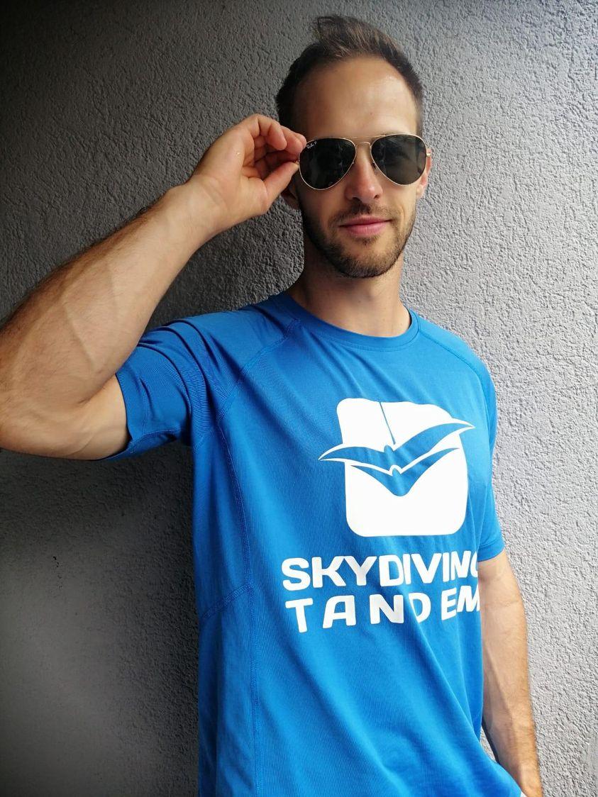 Antonio Klasnić, Aeroklub Tandem, Skydiving tandem group, tandem jump