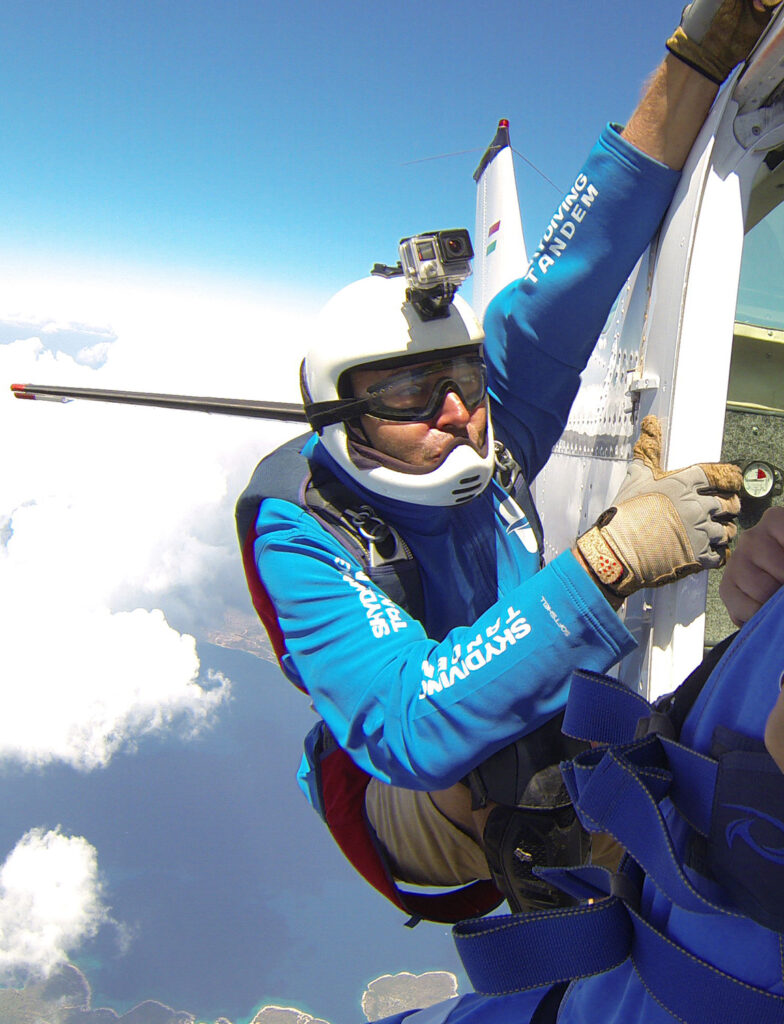 Nenad Pešut, aeroklub Tandem, skydiving tandem group, skydiving tandem jump