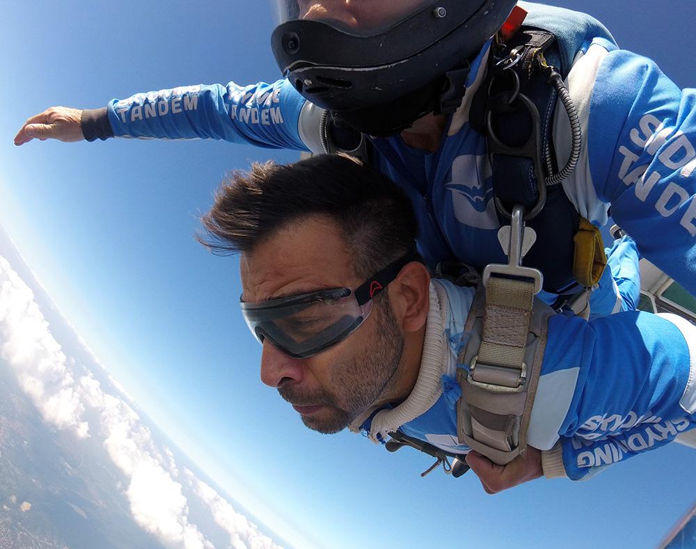 Janko Popović Volarić skok iz aviona sa ekipom AK Tandem