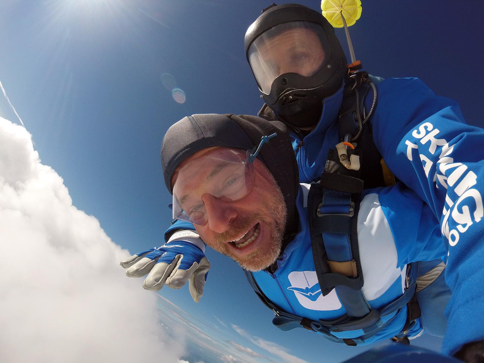 Rene Biotorajac skok ioz aviona sa ekipom AK Tandem